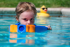 Swim Days are Back (John Petrick) Tags: pool swimming jack duck lasvegas swimmingpool littleboy yellowduck d90 18200mmvr swimminginpool duckinpool littleboyswimming swimdays swimmingseason jackinapril2011 swimmingwithkickboard swimdaysareback lasvegasswimming