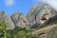 Rock faces - Mt. Inago, Mozambique