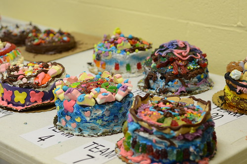 Other troop's cakes.