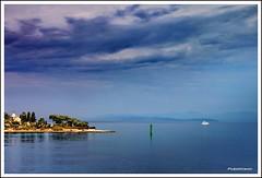 Green lighthouse [EXPLORE] (Poljeianin) Tags: croatia s