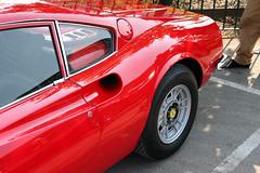 Brooklands Auto Italia - 1974 Ferrari Dino GT (RJU 888M) (growler2ndrow) Tags: uk classic cars museum vintage 1974 dino ferrari surrey autos gt veteran weybridge brooklands