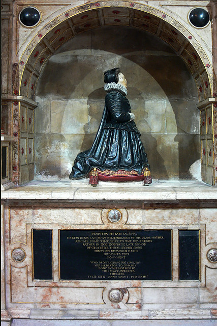 Alabaster Monument Abigail Goldsborough Worcester cathedral