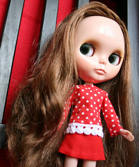 Lily in Red...