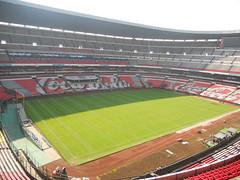 Primer día de montaje - Estadio Azteca 05