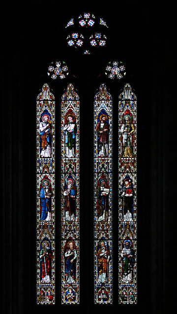 worcester cathedral stained glass Lavers, Barraud, and Westlake