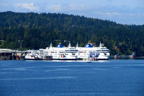 Skeena Queen + Coastal Sisters at Swartz Bay