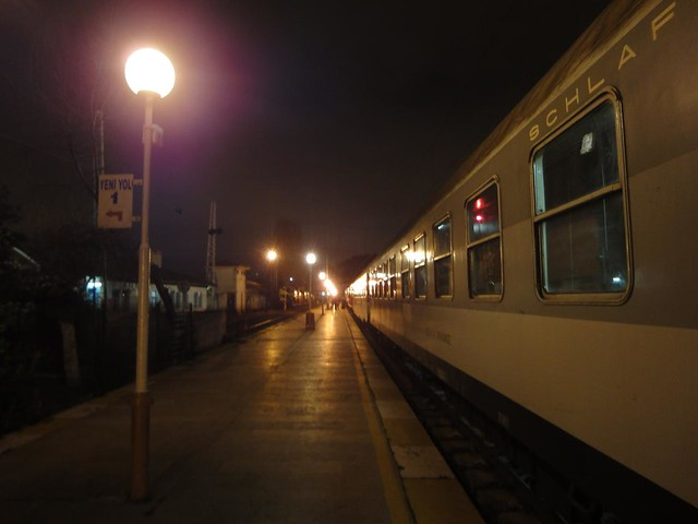Comboio da Turquia até à Bulgária