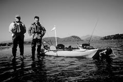 A team.. (Nicolas Valentin) Tags: uk scotland kayak lochlomond gerry prowler caper ecosse kayakfishing oceankayak nicolasvalentin