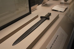Sword that captured Santa Anna (dude no!) Tags: santa anna history mexico texas houston sword hermannpark hmns t2i joelrobison