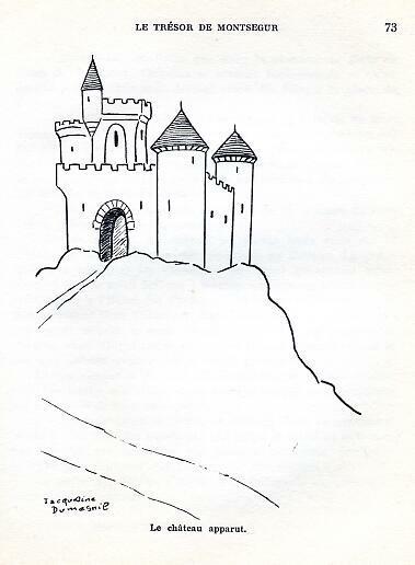 Le trésor de Montségur, by Jacqueline DUMESNIL -image-50-150