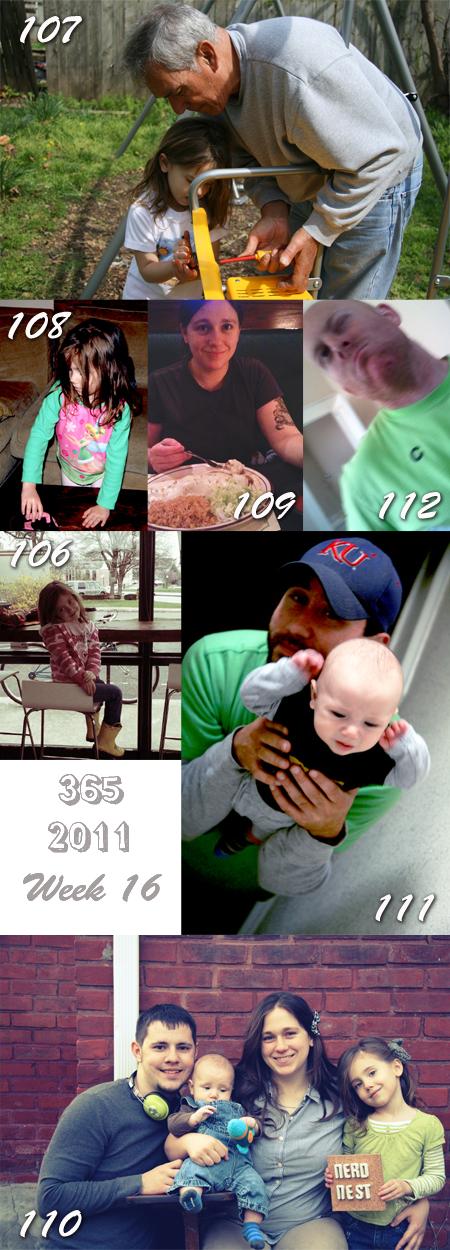 365 2011: Week 16