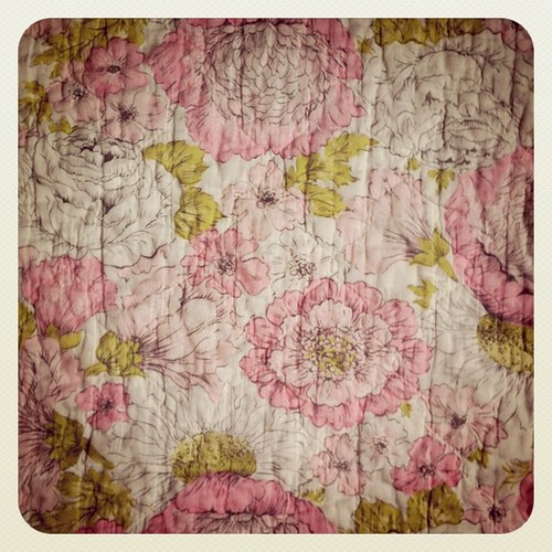 Vintage Floral Bedspread