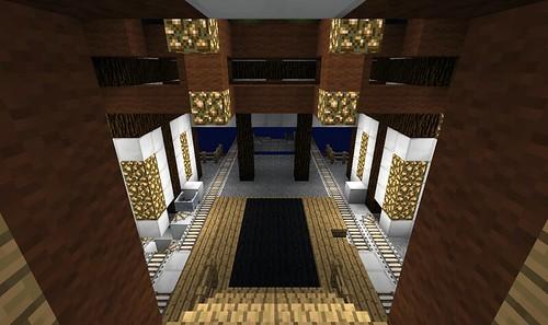 Minecraft Screenshots-「唐風歸來踏清秋車站」