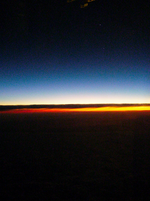 Day 348 - Sunrise over the Southern Hemisphere