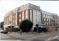 BOSCOMBE HOSPITAL.  ASHLEY RD / SHELLEY RD.  BOURNEMOUTH  OCTOBER 1992 (BOURNEMOUTH GRANT) Tags: road west history hospital grant ashley royal victoria local shelley bournemouth rd boscombe hants