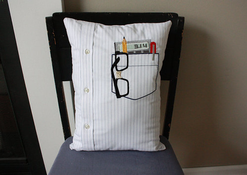 nerd pillow blogged