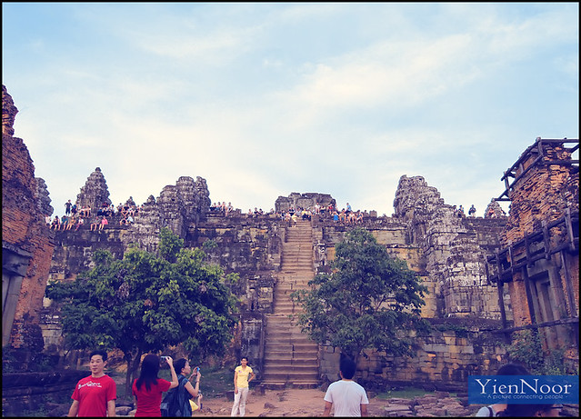 The Bakheng Hill Angkor Wat