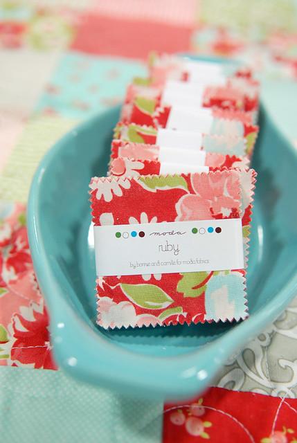 Ruby mini charm packs