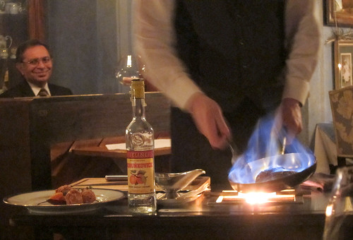 Tableside Flambe
