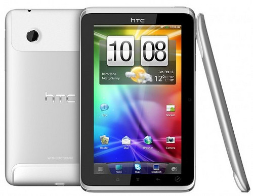 HTC Flyer specs and demo video