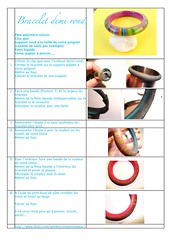 Tuto bracelet - A utiliser sans modration... (ToutEnCouleur) Tags: diy bijoux bracelet bangle tutorial tuto polymer faitmain tutoriel
