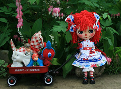 Raggedy Anne arrives with her favorite toys!