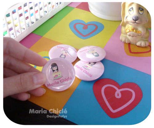 Buttons by Maria Chiclé ● Design Fofys