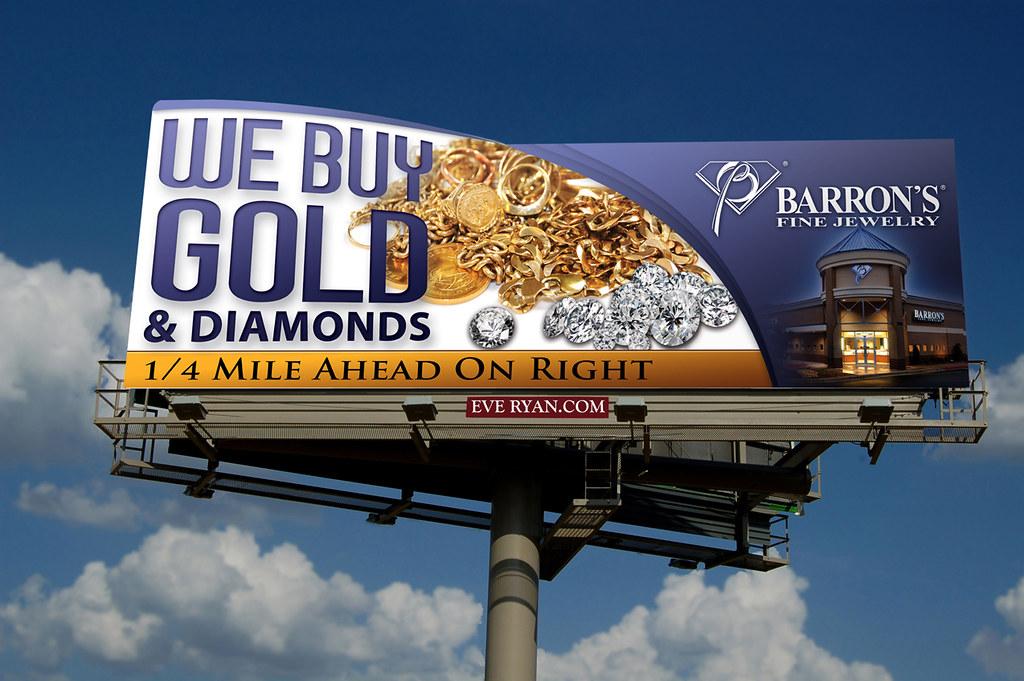 We Buy Gold Billboard