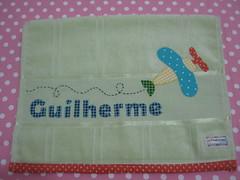 Toalhinha do Guilherme (Studio Be Happy) Tags: bebê patchwork applique toalhinha patchcolagem toalinhaboca