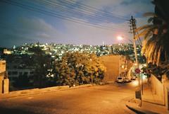 a night of Amman (palmleaf) Tags: city film twilight amman jordan 24mm slope naturablack