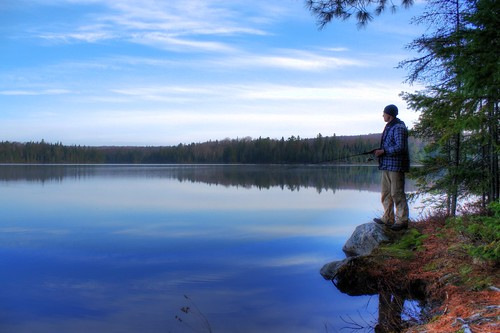 Algonquin Grant Fishing