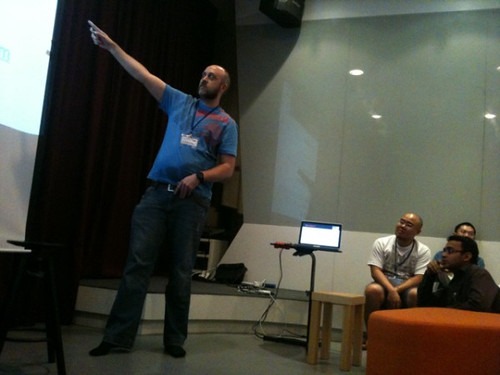 Me Talking at webcamp:five