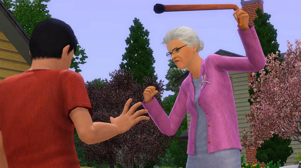 Sims 3 Generations Mean Old Lady
