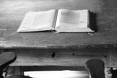 desktop (marfis75) Tags: desktop windows analog writing buch lesen table reading book chair desk read cc analogue tisch stuhl schreibtisch schreiben gather monocrome newsdesk ccbysa marfis75 marfis75onflickr