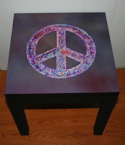 Peacefest Table 4 by Rick Cheadle Art and Designs