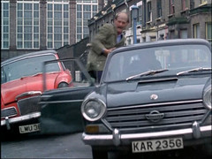 Morris 1800 and Sunbeam Rapier (Trigger's Retro Road Tests!) Tags: show london cars car thames regan jack flying tv police 1800 carter 1978 morris squad sunbeam rapier sweeney goerge retor