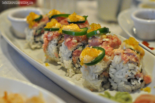 Angry Tuna Roll at McCormick & Schmicks ~ Minneapolis, MN