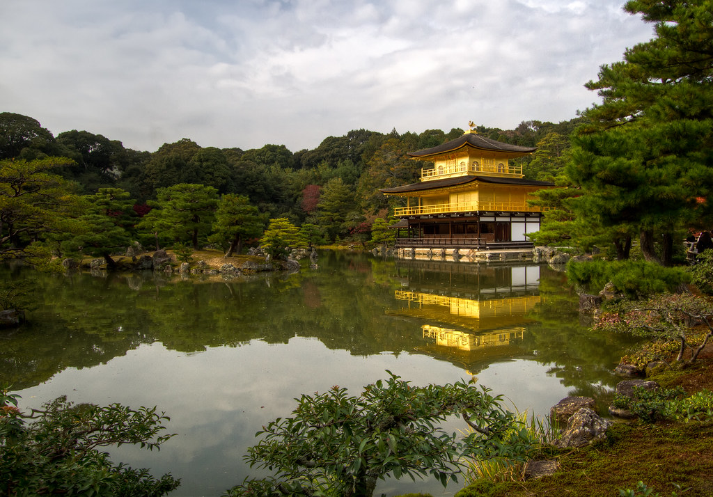 Reflection of a Golden Pavilion