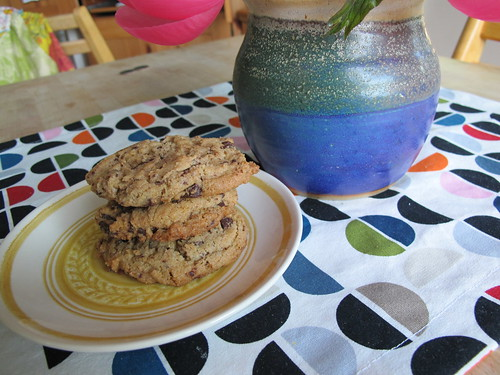 w.w. chocolate chip cookies from good to the grain