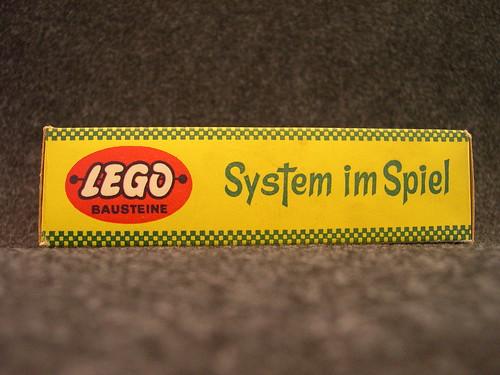 Early Lego German 236 Garage Kit (side)