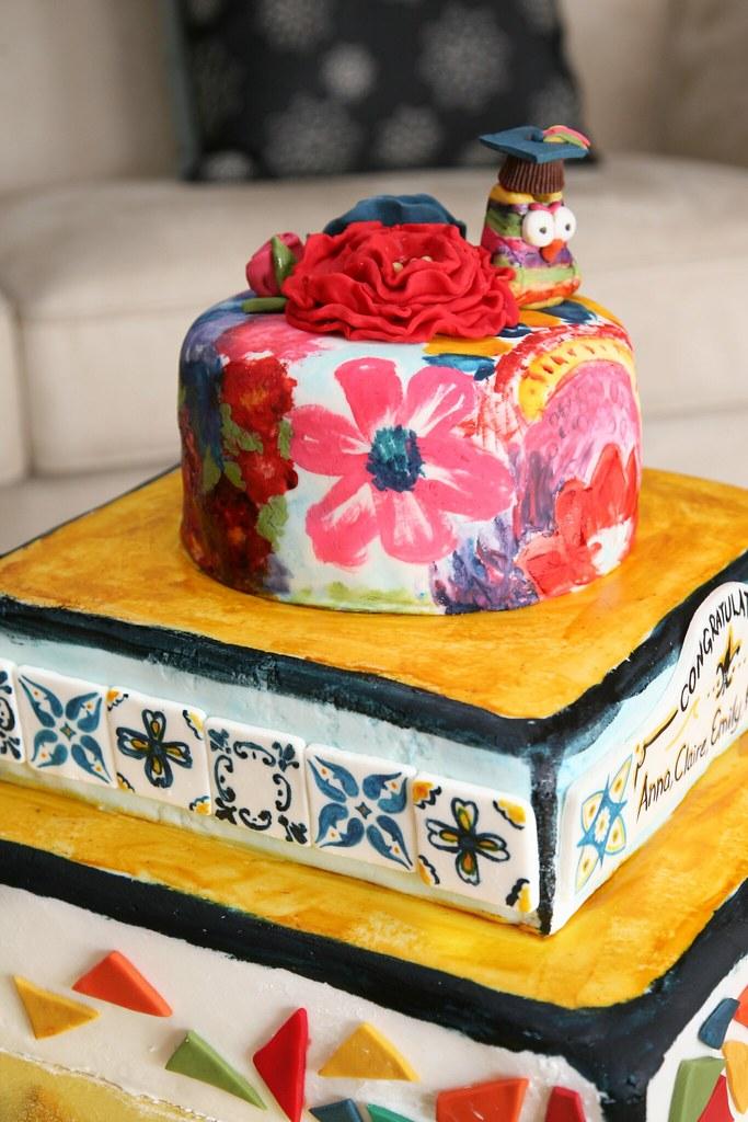 Graduation Fiesta Cake Sweet Kiera