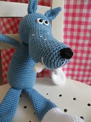 2011_06112Wolf0001 (Pfiffigste Fotos) Tags: wolf pattern amigurumi crocheted hkeln hkelanleitung gehkelter hkelblog