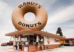 And My Love is Bigger Than a Randy's Donut (Thomas Hawk) Tags: california usa losangeles unitedstates 10 unitedstatesofamerica fav20 donuts donut doughnut fav30 doughnuts randys inglewood donutshop randysdonuts fav10 fav25 fav40 superfave