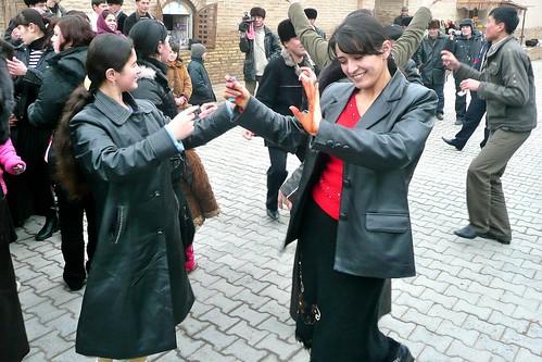 Wedding Dancers - Khiva, Uzbekistan