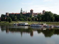 Vistas del castillo de Krakow