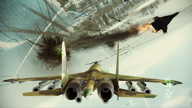 Ace Combat: Assault Horizon - A close range affair