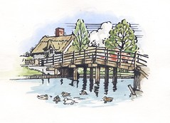 """Woodcut style illustration for Property sales brochure • <a style=""""font-size:0.8em;"""" href=""""http://www.flickr.com/photos/64357681@N04/5865729467/"""" target=""""_blank"""">View on Flickr</a>"""