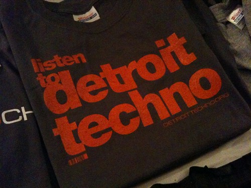 Listen to Detroit Techno T-Shirt