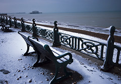 West Pier in Winter