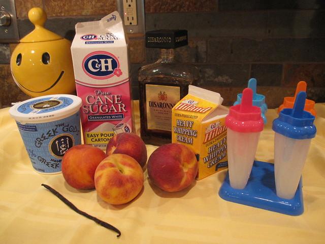 Skip To My Ewe: Peach-Vanilla Cream Pops